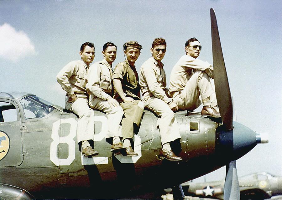 Photo d'archives couleur Pilots10
