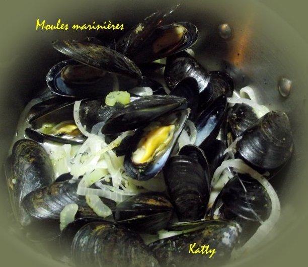 Moules marinières et vin blanc  et variantes  Moules12