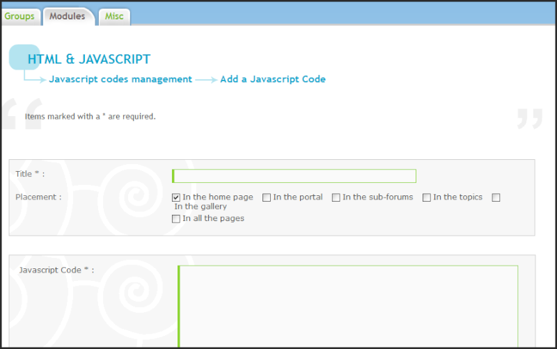 New Update: JavaScript Code Management 04-07-12