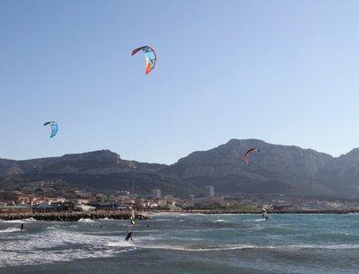 Marseille : un chenal pour le kitesurf à partir du 1er juin Marsei10