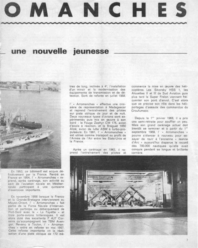 """Photos pour les admirateurs du P.A. """"Arromanches"""" - Page 2 Carena11"""