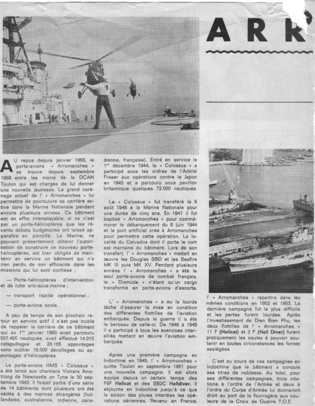 """Photos pour les admirateurs du P.A. """"Arromanches"""" - Page 2 Carena12"""