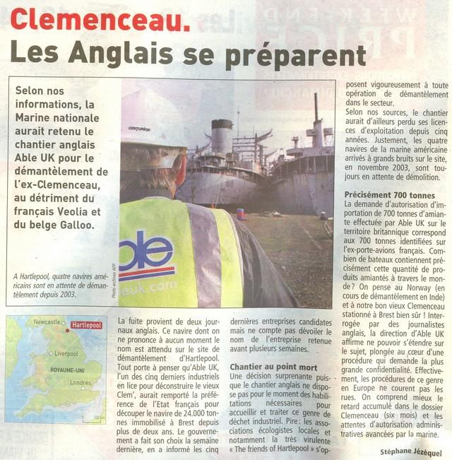 Démantèlement du Clemenceau et Colbert... - Page 2 Clem210