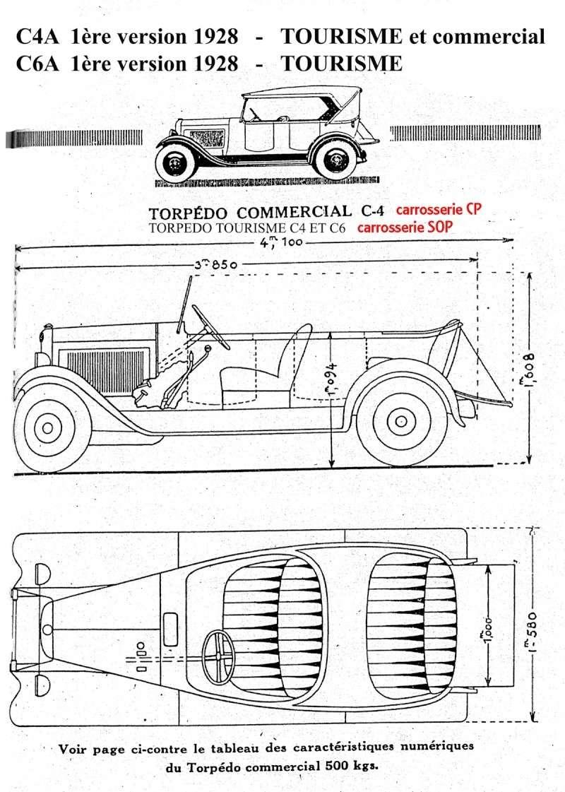 Torpédos C4 et C6 - classification Chassi10