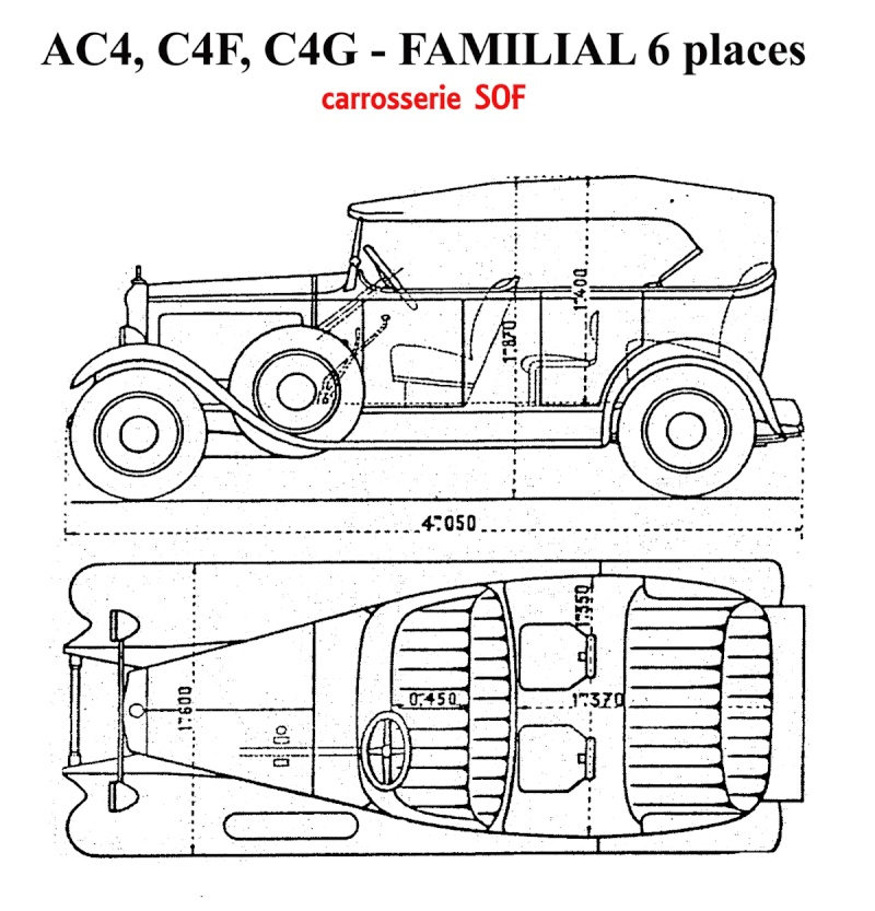 Torpédos C4 et C6 - classification Chassi12