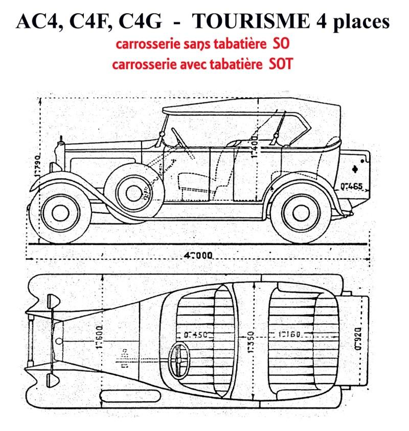 Torpédos C4 et C6 - classification Chassi13