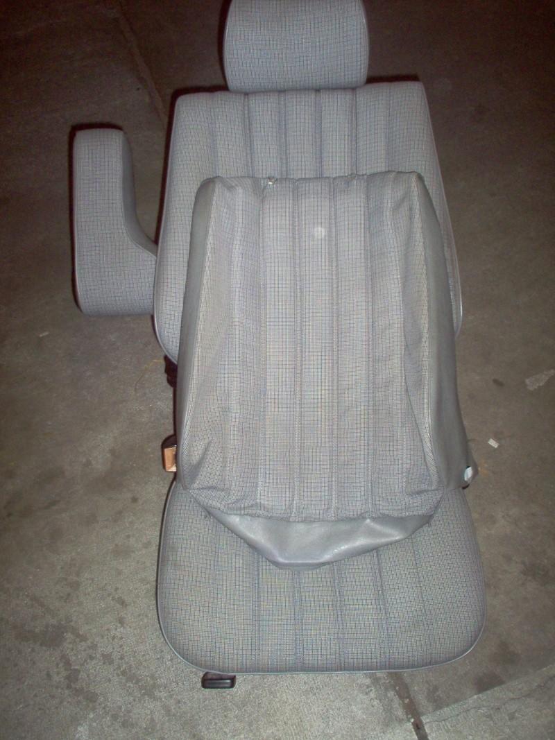 Siège conducteur usé, solution simple Passep17