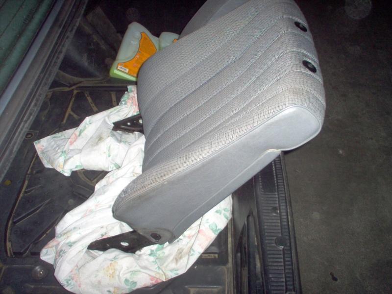 Siège conducteur usé, solution simple Passep24