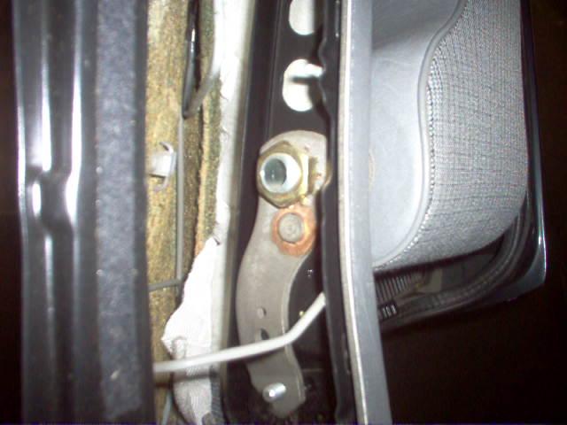Siège conducteur usé, solution simple Passep28