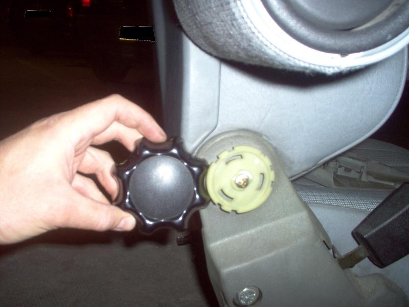 Siège conducteur usé, solution simple Passep30