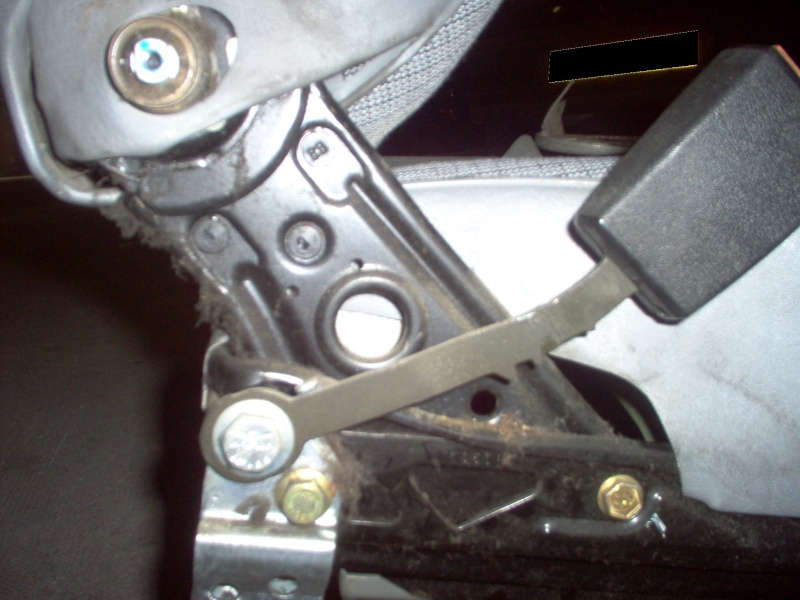Siège conducteur usé, solution simple Passep31