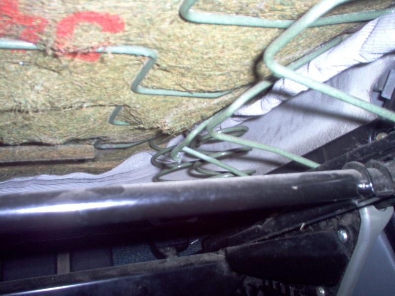 Siège conducteur usé, solution simple Passep36