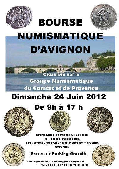 Bourse/Salon de numismatique d' Avignon (84) : 24 juin 2012   Avigno10