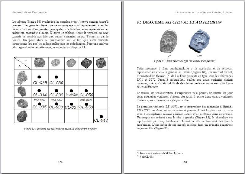 Drachme au cheval et au fleuron (Rutènes) [WM n° 7642] Page110