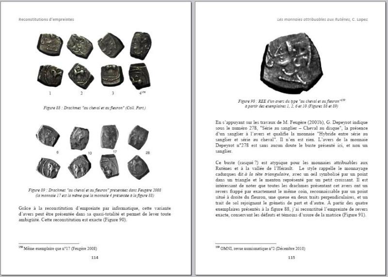 Drachme au cheval et au fleuron (Rutènes) [WM n° 7642] Page410