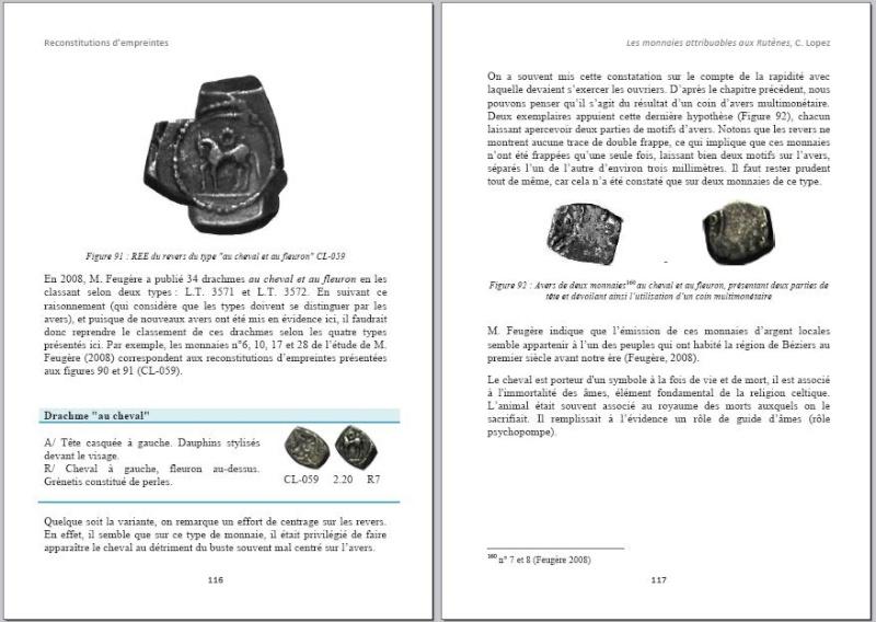 Drachme au cheval et au fleuron (Rutènes) [WM n° 7642] Page510