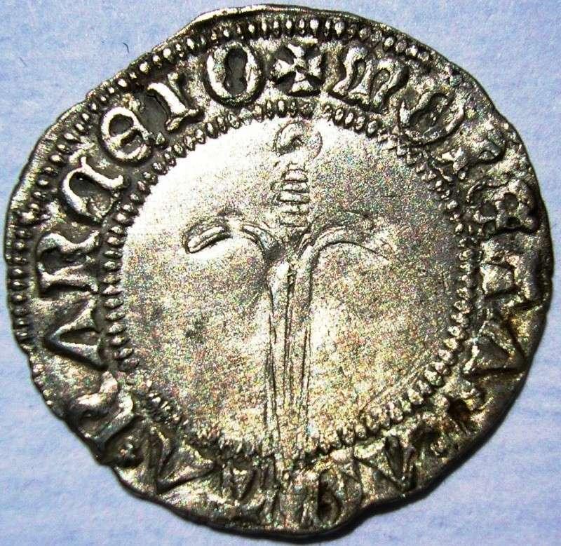 Demi gros de Nancy - Duché de Lorraine - pour Antoine (1508-1544)  Revers15