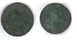 2 cents. y medio de escudo de Isabel II (Sevilla, 1867) Isabel10