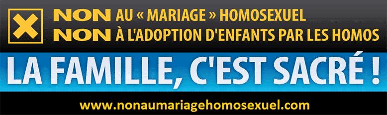 manif à Paris le 18 Nov : Non au Mariage homosexuel... Homose10