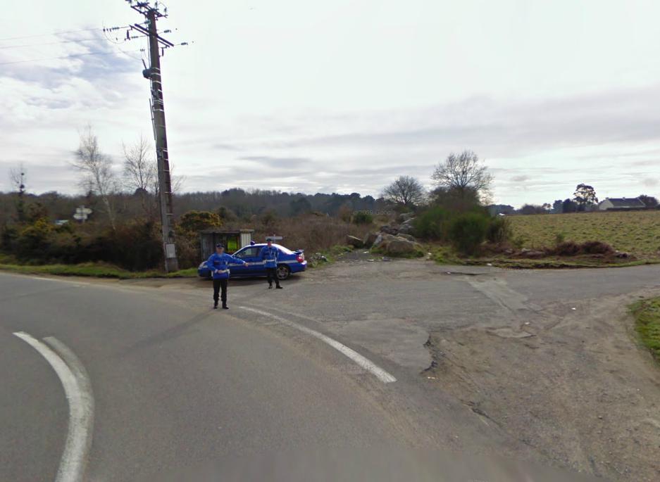 La Google Car arrêtée par les gendarmes avec la Subaru ! Google10