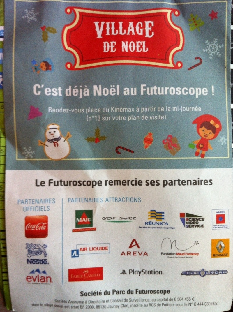 Le Village de Noël - du 17/11/2012 au 6/01/2013 - Page 3 Img_0011