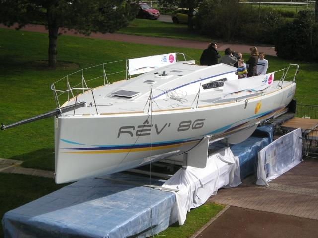 Un bateau sur le Parc - 1er Mars 2008 P3013211