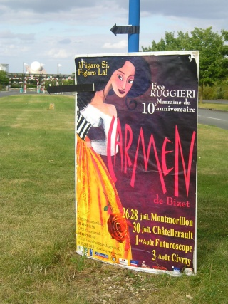 Carmen : un opéra au Futuroscope ! - 1er août 2008 P8011510
