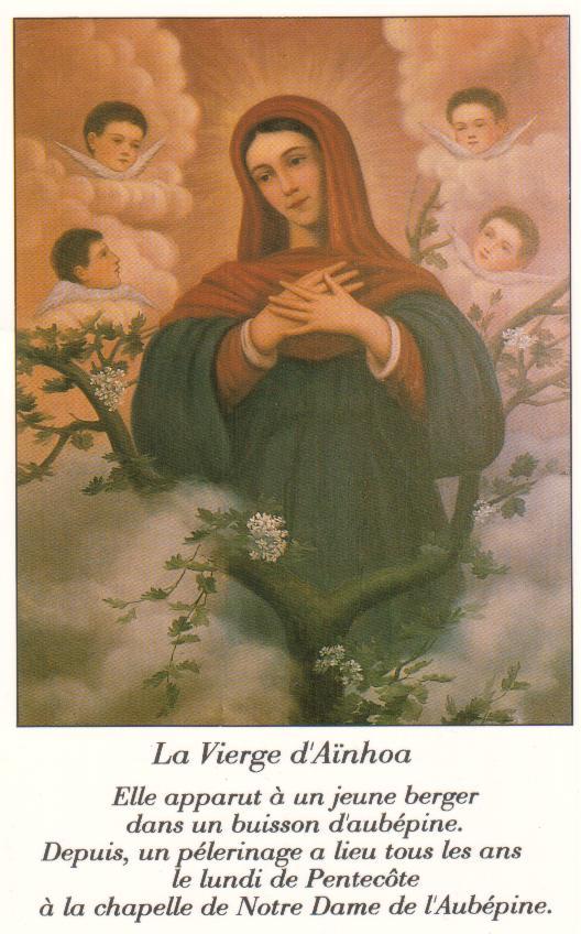 La Vierge à Aïnhoa Marie11