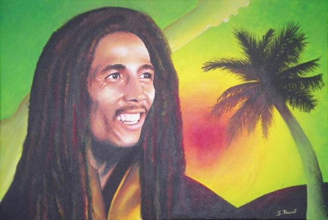 Portrait de Bob Marley Imgp5634