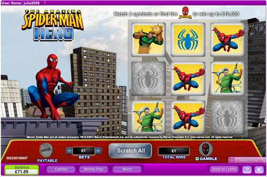 SlotsandGames New games and always $5 free Spider10