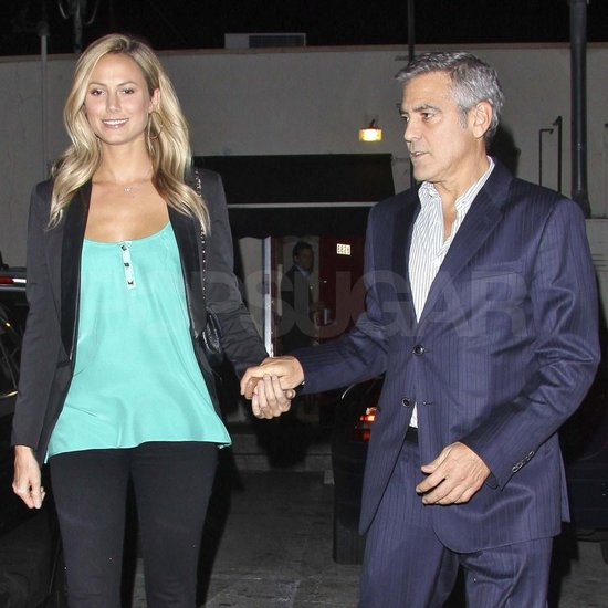George Clooney on a dinner date in LA Jan2012 Georg151