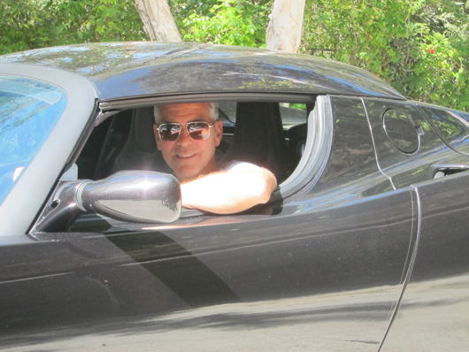 George Clooney to auction Tesla for South Sudan nonprofit Tesla_10