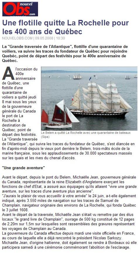 Québec 2008 No10