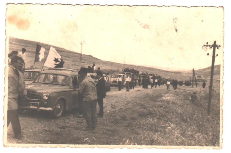 Aokas: défilé le 05 juillet 1962  10_00110