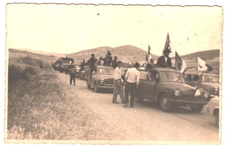 Aokas: défilé le 05 juillet 1962  12_00110