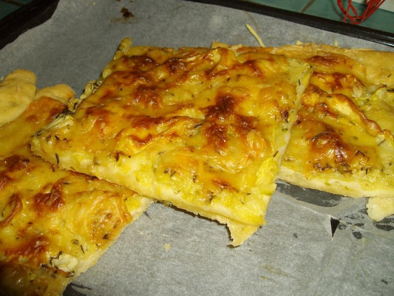 Coca courgettes & fromage Photo10