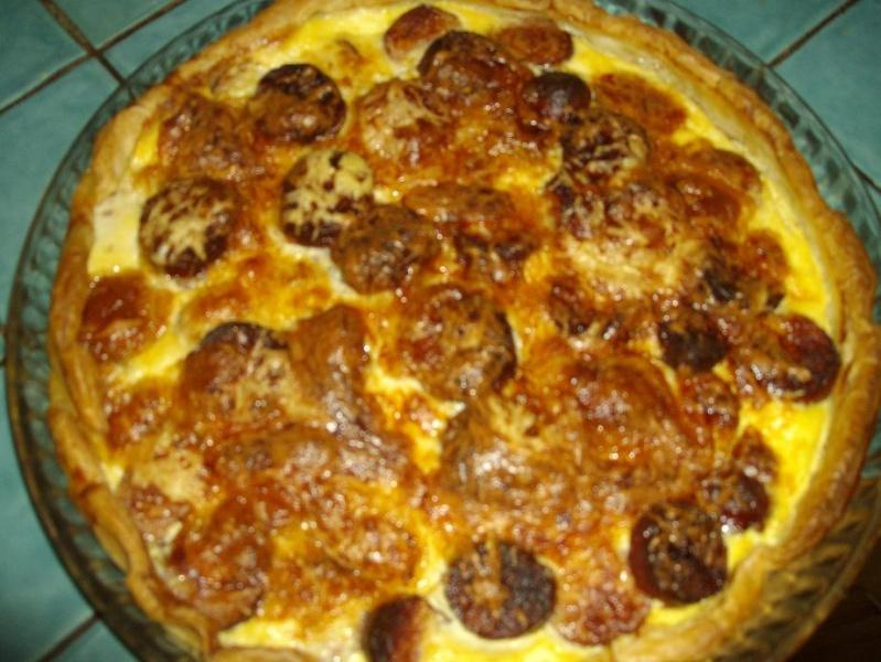Tarte saucisses Montbéliard Photo_11