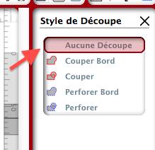 insérer du texte sur une page d'étiquettes Captur81
