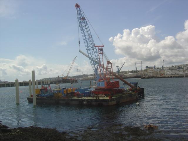 Le port de plaisance de BREST CHATEAU Dsc04318