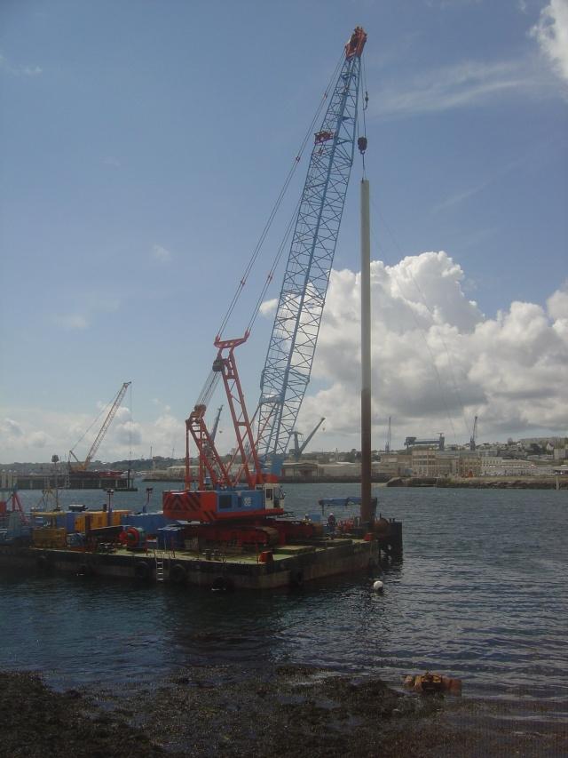 Le port de plaisance de BREST CHATEAU Dsc04319