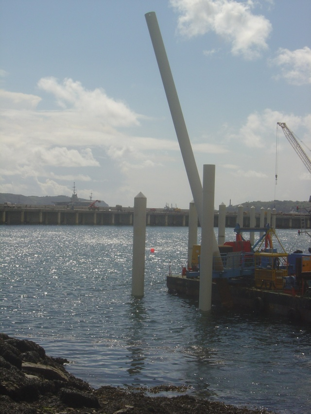 Le port de plaisance de BREST CHATEAU Dsc04325