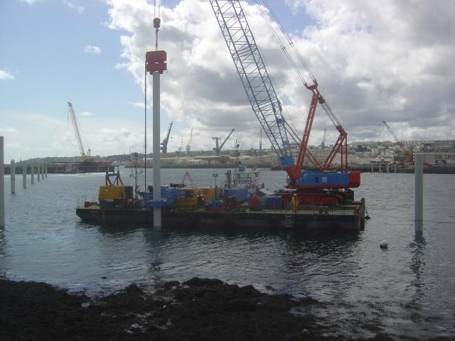 Le port de plaisance de BREST CHATEAU Dsc04327