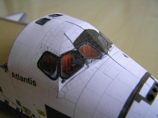 Navette Atlantis 1/100 Papier P5100011