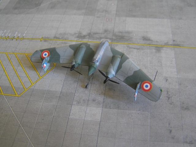 Lippish P04 et photos de groupe Luft 46 - Brétigny 1946 , 1/200 P9160011