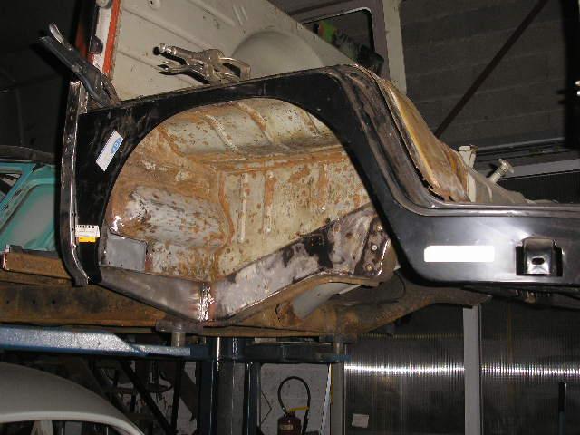 Restauration du combi Split 65 - Page 3 Photo_50