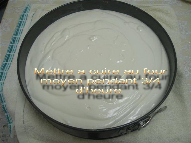 GATEAU AU FROMAGE POUR SHAVOUOT  A MICHELLE P6087121