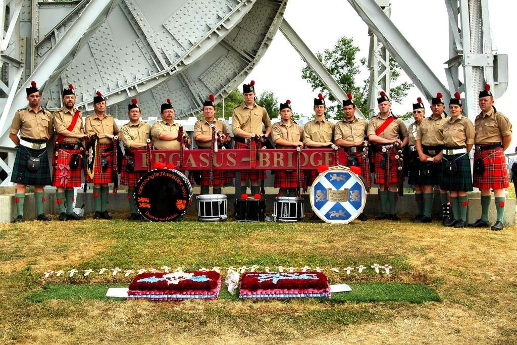 NORMANDY HIGHLANDS PIPE BAND