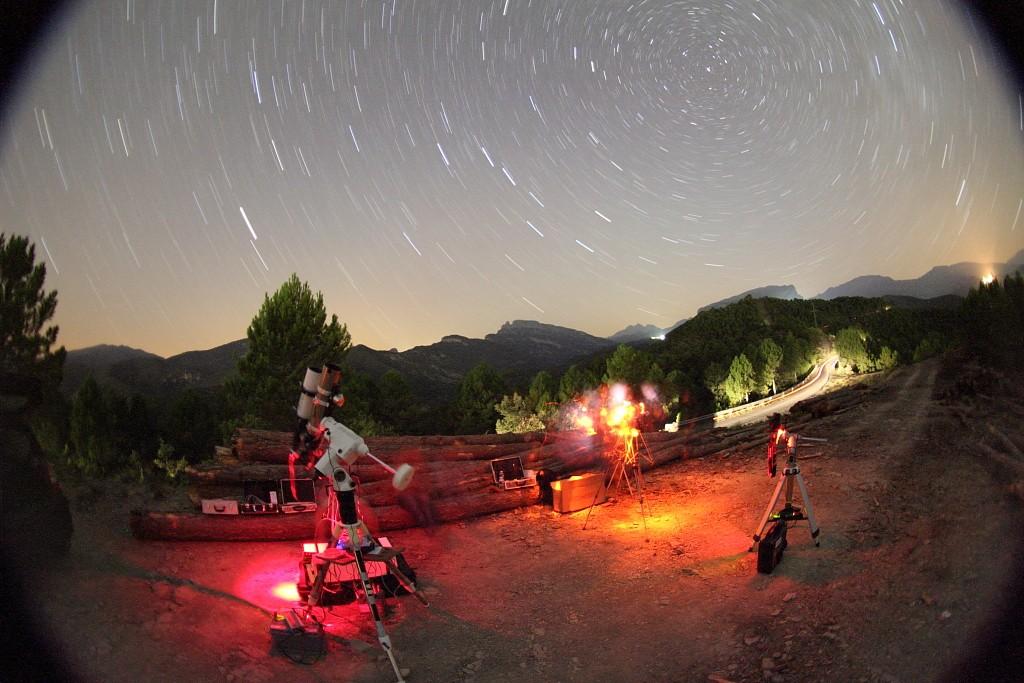 Astro dans les Pyrénées Astron10