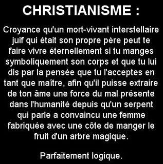 Drôleries religieuses Christ10