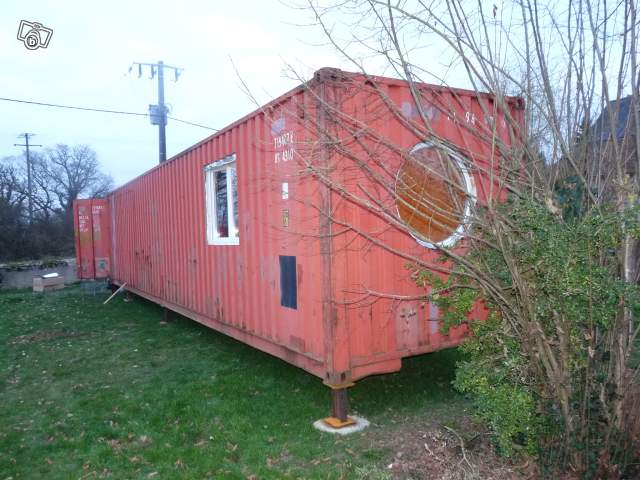 Amnager un container en maison cosybox habitation for Extension en container